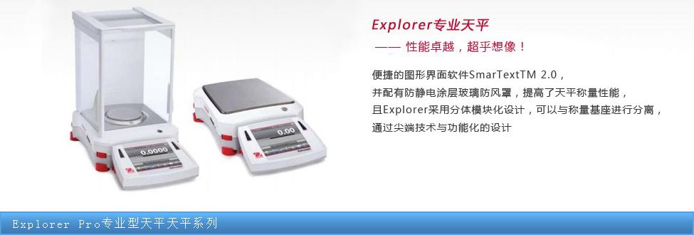Explorer Pro专业型天平天平系列