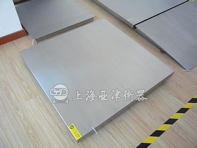 SCS-P771-SS单层地磅不锈钢面板