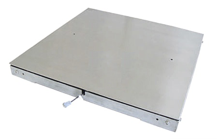 SCS-P772-SS双层不锈钢面板地磅