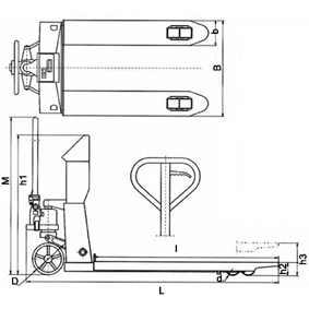 电子叉车秤计量标准