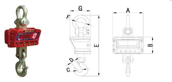电子吊秤10t直显电子吊秤校准方法