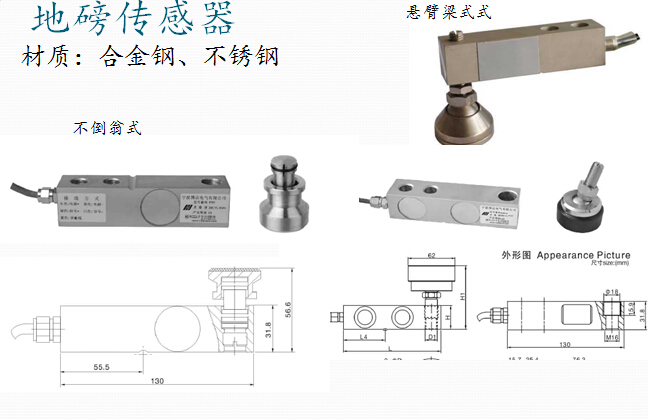 电子地磅配件之传感器