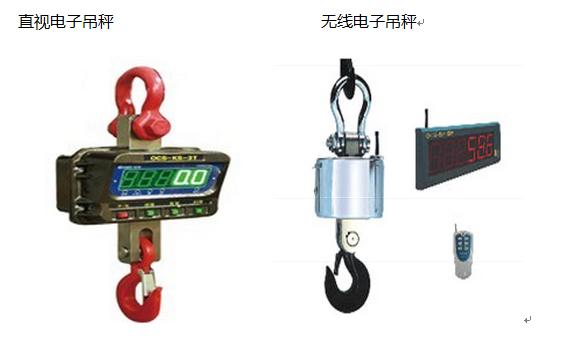 电子吊秤使用环境